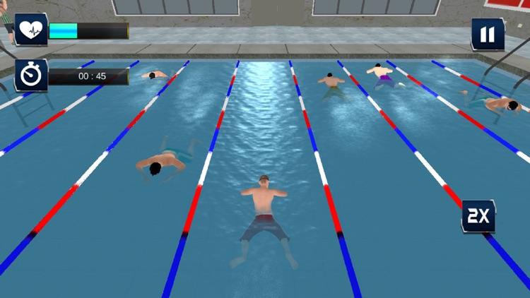 Real Water Swimming Pool Race screenshot-4