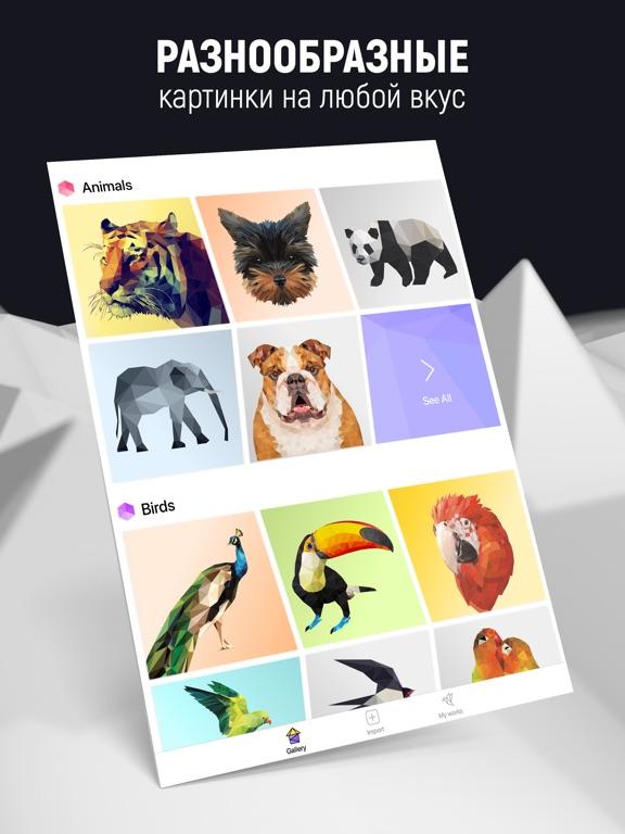 POLY ART - Цветная головоломка для iPad