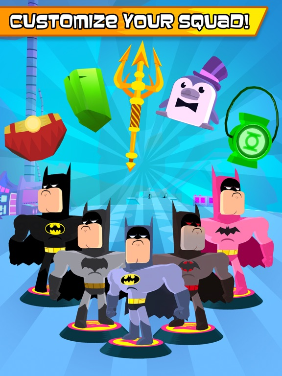Teen Titans GO Figure! tablet App screenshot 5