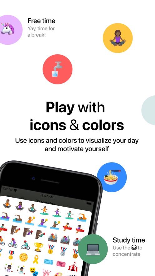 Tiimo - Visual Daily Planner App 截图