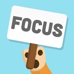 Donut Dog: Stay focused timer