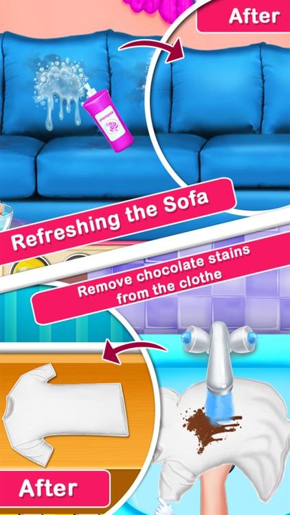 MagicWomen House Cleaning Game screenshot-3