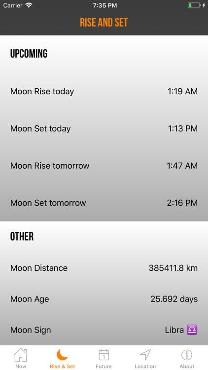Moon Phase Calendar Plus screenshot-4