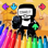 FNF Coloring Arrow Game