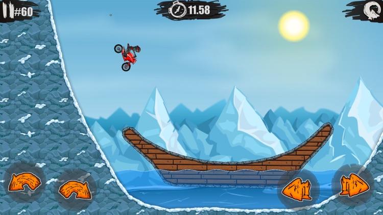 疯狂特技摩托 - 全民赛车漂移游戏 screenshot-4
