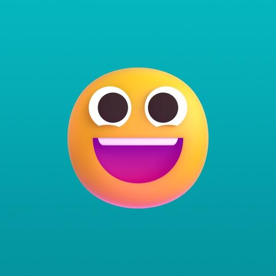 Fluent Emoji Stickers