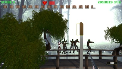 Zombie Attack Shooter Pro screenshot 1