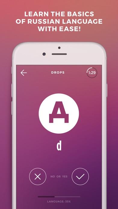 Screenshot #6 for Learn Russian language - Drops