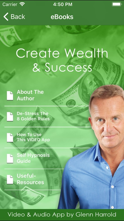 Create Wealth & Success Video screenshot-4