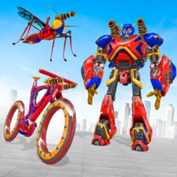 BMX Robot Transform Wars