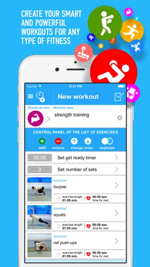 TimeXFit - fitness assistant Screenshot