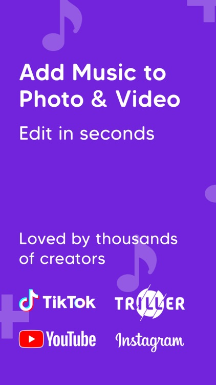 Add Music to Photo & Video