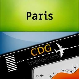 Paris Airport CDG Info + Radar