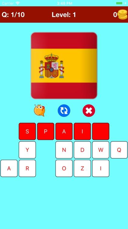 Learn Countries Flags Quiz screenshot-4