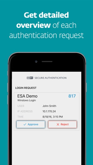 Eset Secure Authentication On The App Store