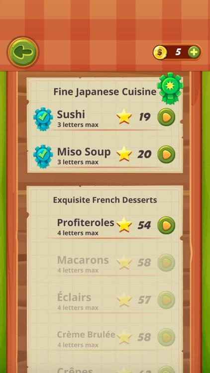 Word Chef - Link Words screenshot-3