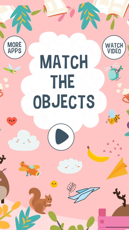 Educational Match The Objects