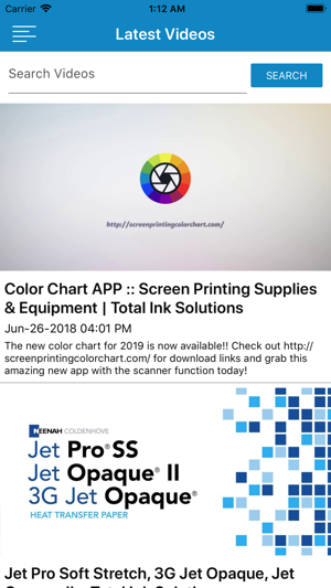 Screen Printing Color Chart On The App Store