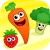 趣味食物! 2-5岁宝宝儿童早教教育游戏