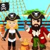 海賊船の宝探しアイコン