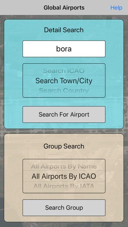 Global Airport Database