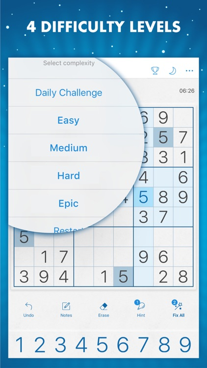 Sudoku Genuine Classic Puzzles screenshot-4