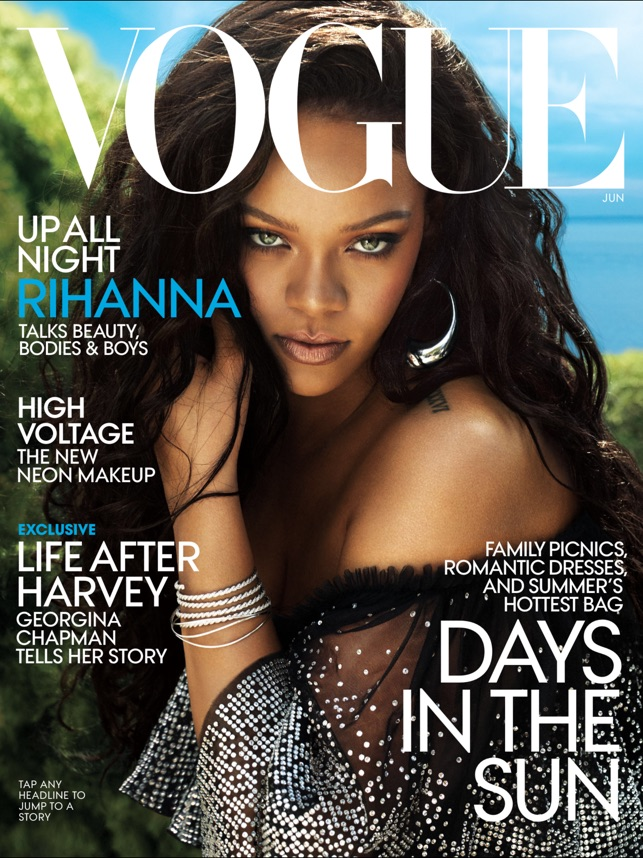 Vogue magazine on the app store ipad screenshots fandeluxe Image collections