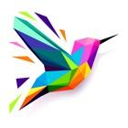 Полигональный пазл - раскраска icon