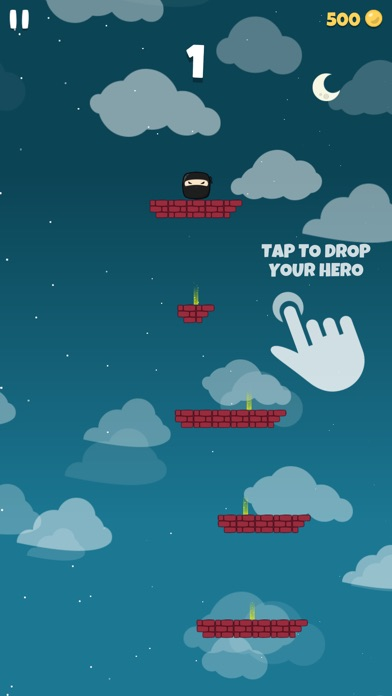 Falling Hero ! screenshot 1
