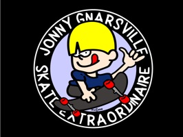It's Jonny Gnarsville™ and Friends skateboarding right onto your iPhone/iPad and into your iMessages to your friends