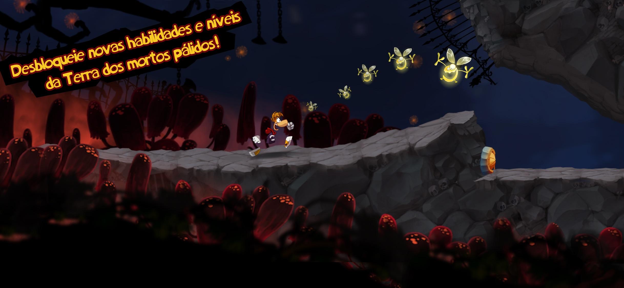 Screenshot do app Rayman Jungle Run