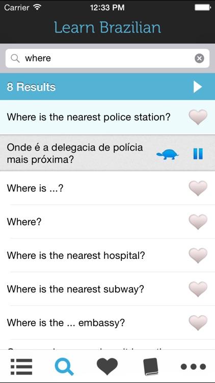 Learn Brazilian Portuguese - screenshot-3