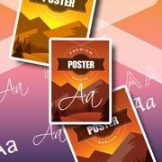 Poster Maker & texte sur photo