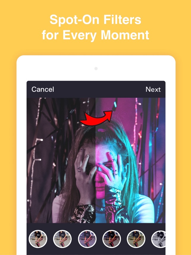 Get Likes for Instory Editor Screenshot