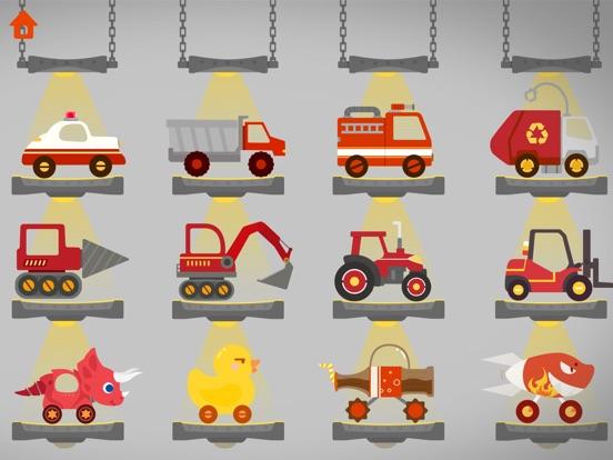 恐龙碰碰车 - 赛车和汽车儿童游戏