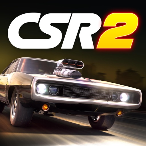 CSR Racing 2 application logo