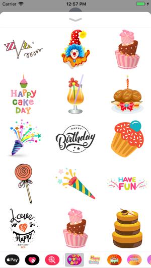 Happy Birthday Fun Wish Emojis 4