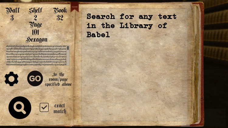 Library of Babel screenshot-3