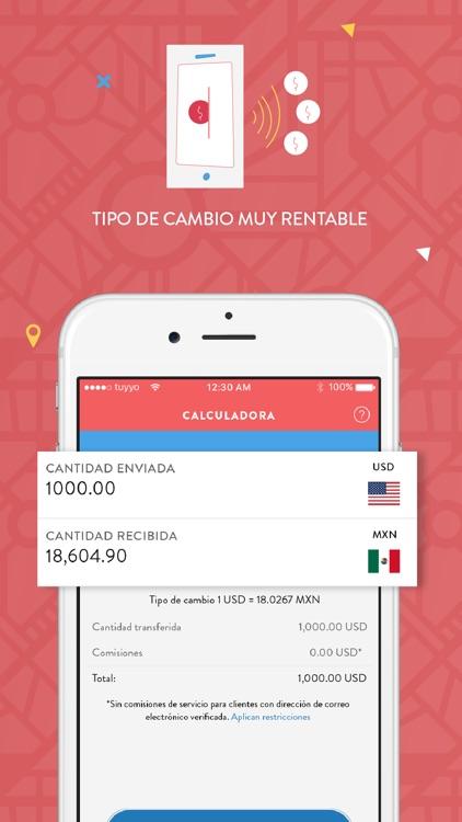 Tuyyo — Send Money to Mexico screenshot-3