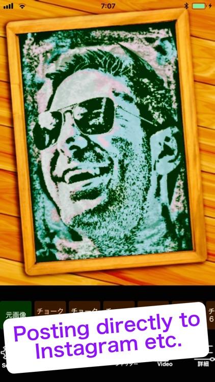Chalk Art-photo editor,filters screenshot-4