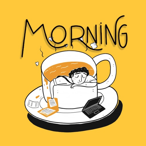 Love Good Morning Stickers