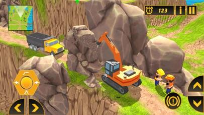 Heavy Crane Excavator 2018 screenshot 1