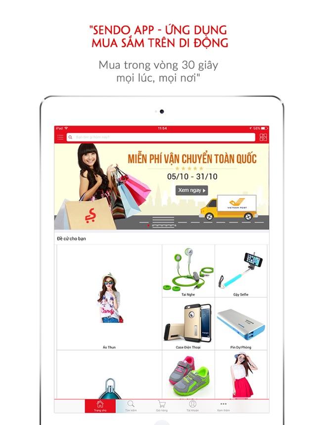 Kết quả hình ảnh cho Ứng dụng mua sắm online sendo tiện lợi và an toàn