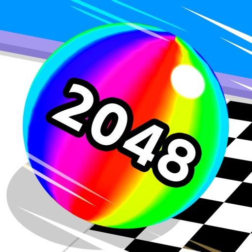 Ball Run 2048 icon