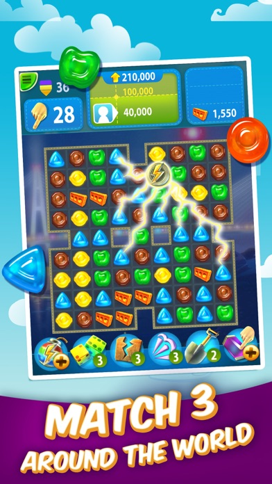 Gummy Drop! – A Match 3 Game screenshot 2