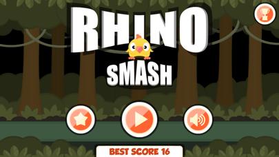 Rhino Smash the birdie escape screenshot three