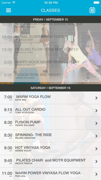 Fusion Fitness And O2 Yoga By Mindbody Incorporated