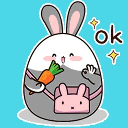 Fat Bunny Animated Stickers