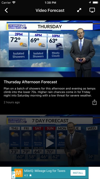 KLFY Weather and Radar screenshot-3