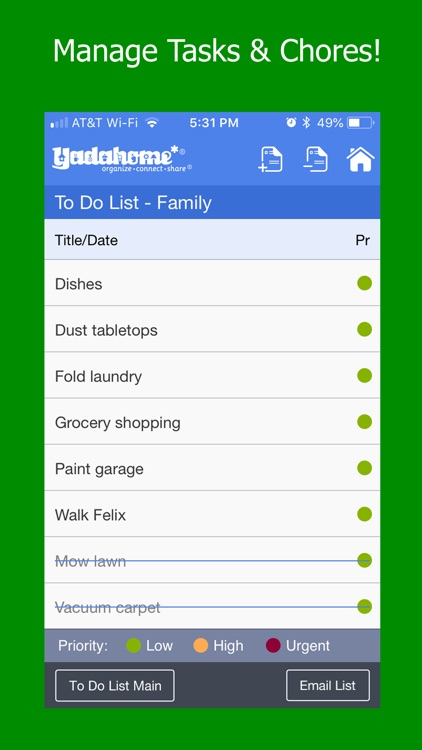 Organizer To Do List & Planner screenshot-7